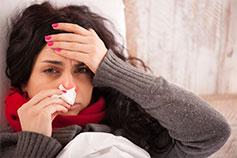 Катаральные явления после гриппа