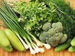 Темно-зеленые овощи