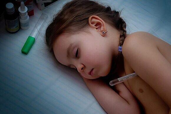 Сколько держится температура при вирусе у детей