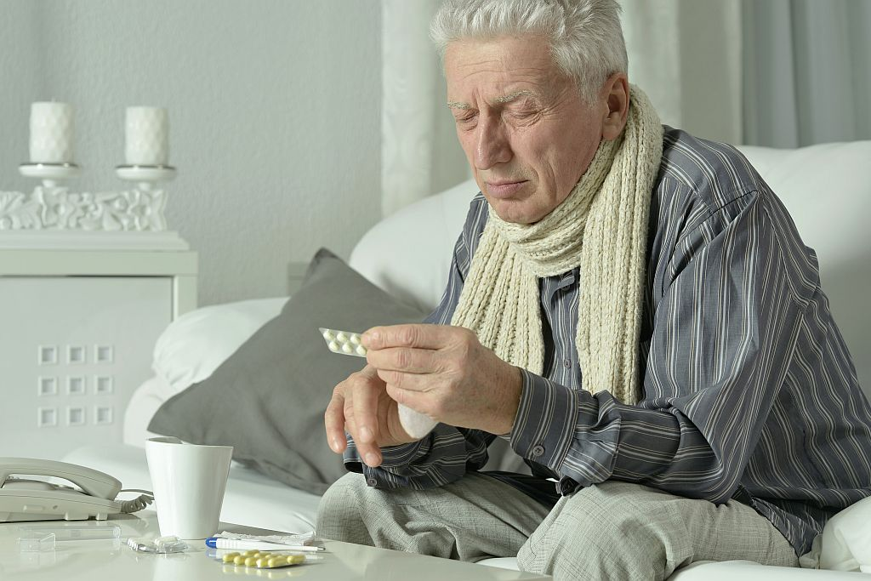 Простуда у пожилых людей