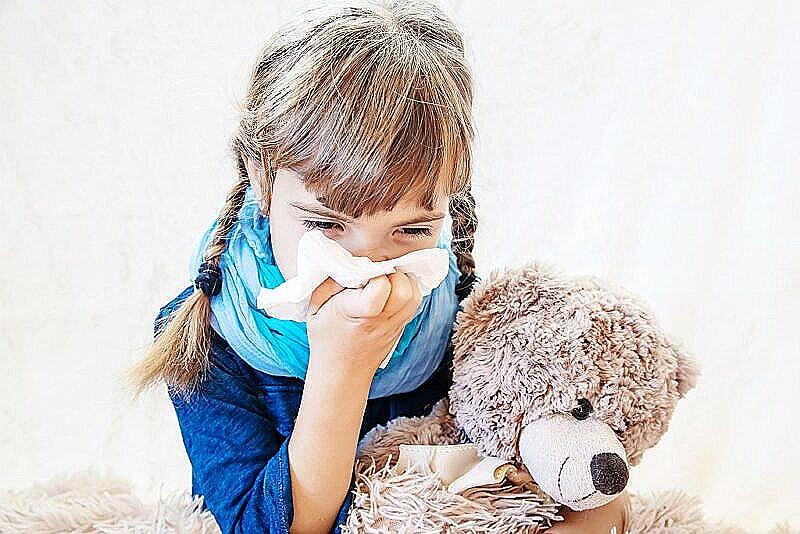 Противовирусное при орз у детей