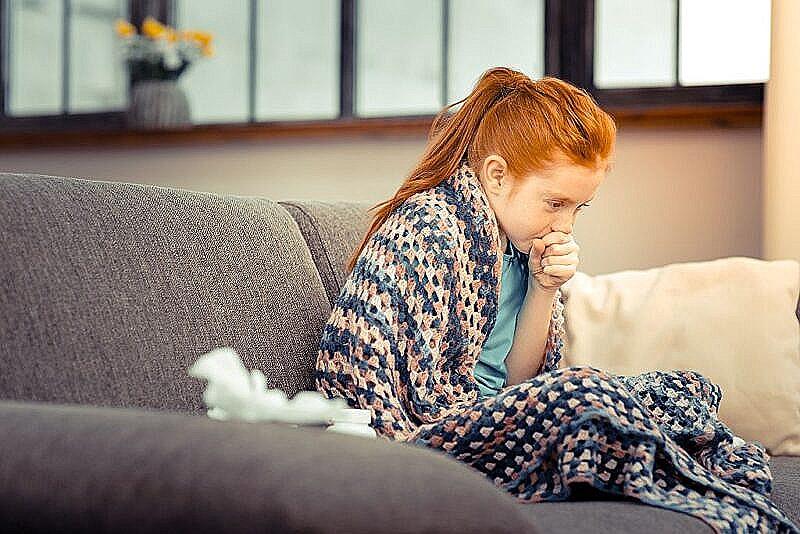 Насморк и влажный кашель у ребенка