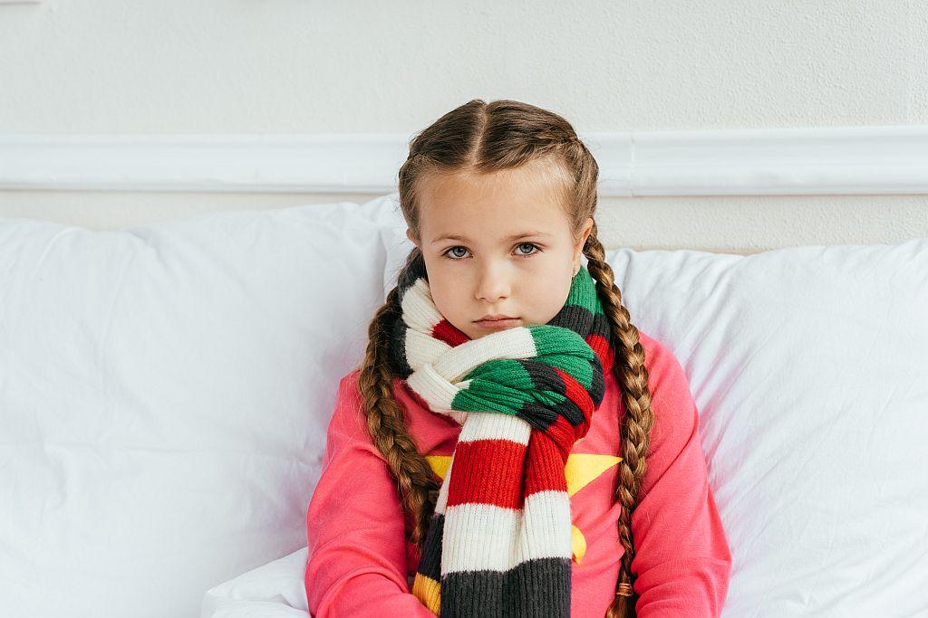 Противовирусные при ангине у детей